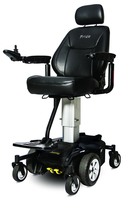 Jazzy Air Power Chair Elevating Seat  Pride Wheelchairs