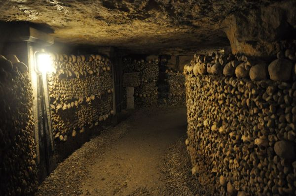 Paris Underground Catacombs