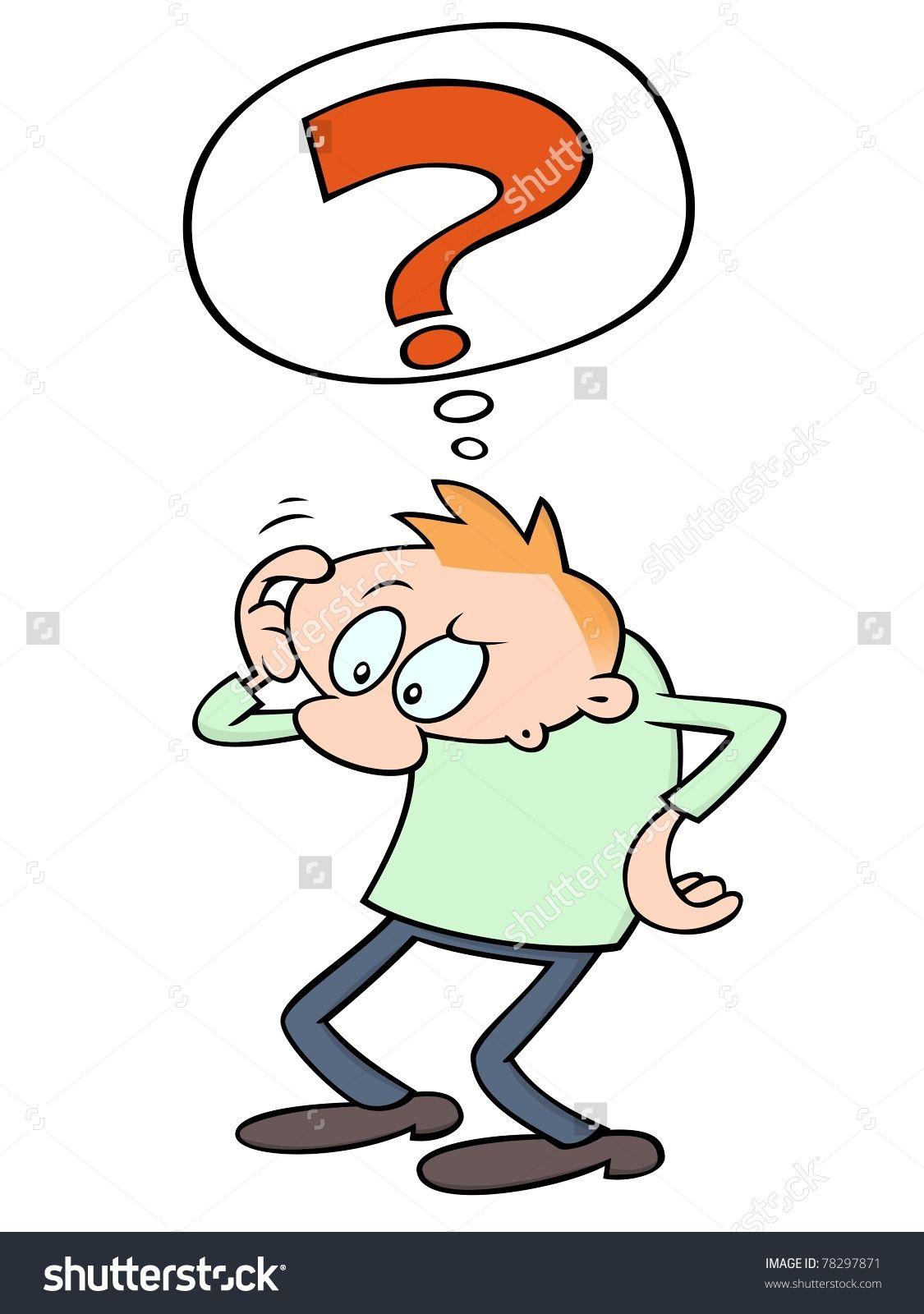 Confused Cartoon People