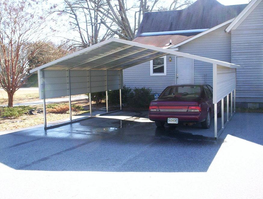 24X24 Cheap Carport For Sale In Missouri