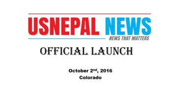 कोलोराडोमा यूएस नेपाल न्यूजको अनावरण सम्पन्न