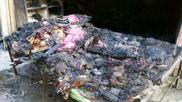 पोखरा हङकङ बजारमा आगलागीबाट ५ करोडको  क्षती (फोटोफिचर)