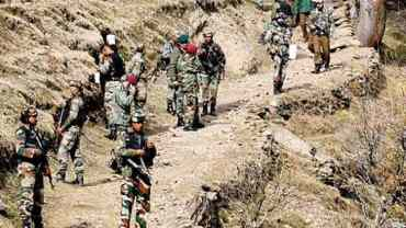 चीनसंग भारत डरायो , दोक्लामबाट सेना उपकरणसहित फिर्ता