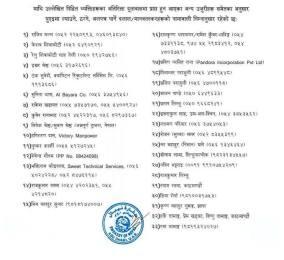 यूएईमा मानब तस्करी गर्ने ५१ नेपाली (नामावली सहित)