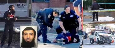"""न्युयोर्क आक्रमणका दोषी २९ वर्षीय ड्राइभर """"सेफुलो"""""""