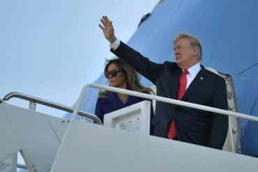 अमेरिकी राष्ट्रपति ट्रम्पको एसिया भ्रमण सुरु