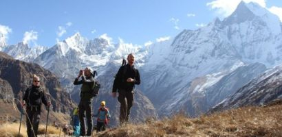 अन्नपूर्ण क्षेत्रमा नयाँ कीर्तिमान : 'हालसम्मकै धेरै पर्यटक'