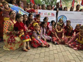 भर्जिनियामा नेपाली राष्ट्रिय गीत गुन्जियो