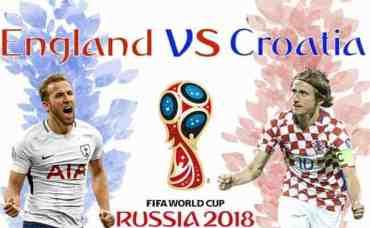 विश्वकप सेमिफाइनल: क्रोएसिया र इङ्ग्ल्याण्ड भिड्दै