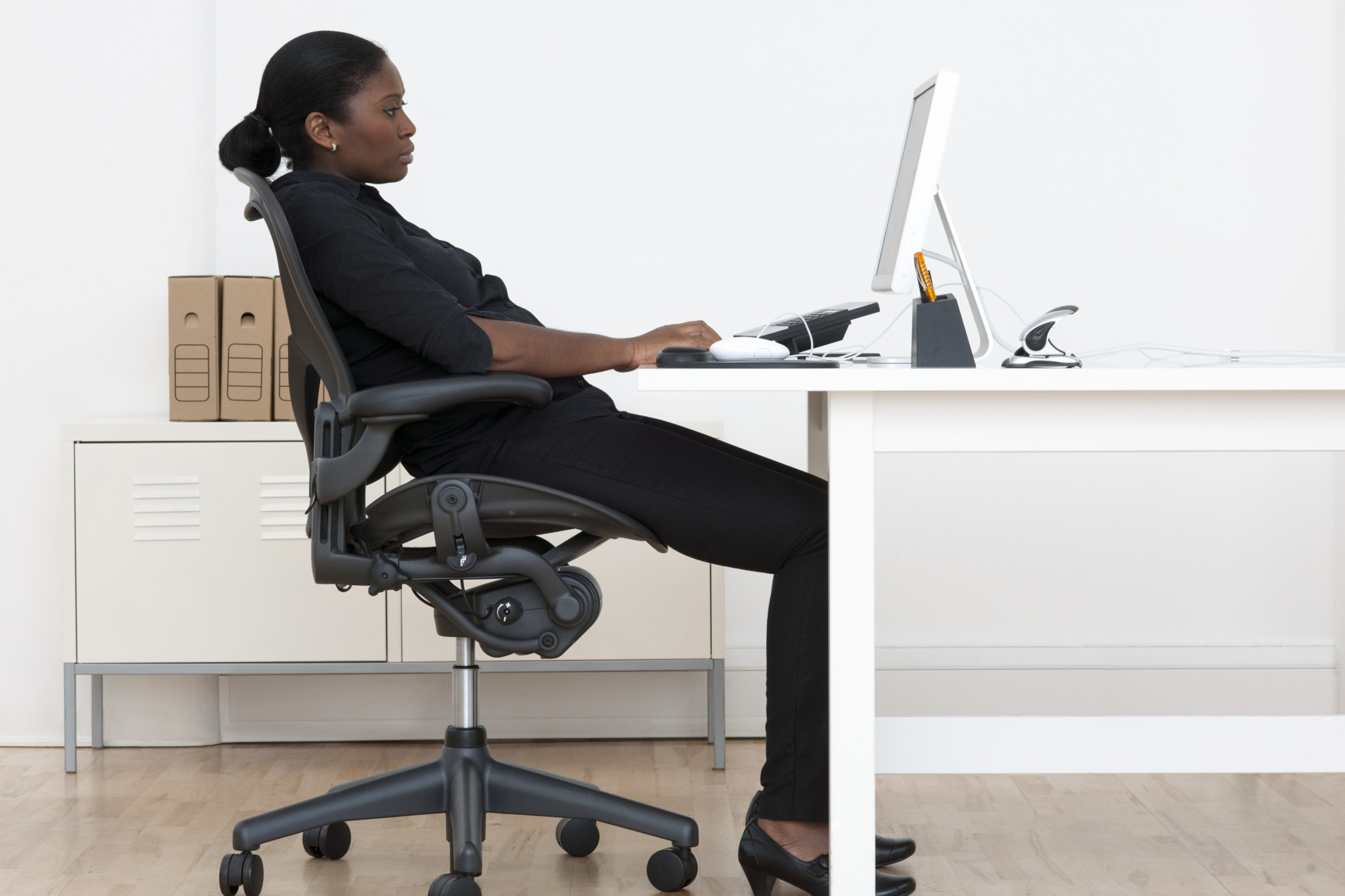 desk chair leans forward unfinished wood frames 7 ways to improve your posture wellness us news