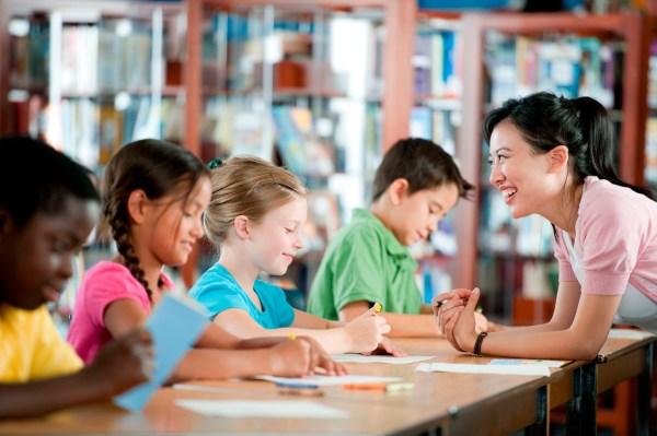 Classroom Elementary School Kids