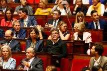 ' Toss Suit And Tie French Parliament