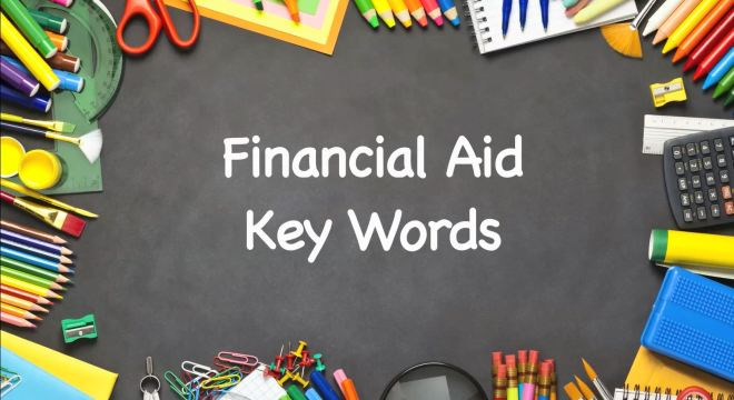 Key Words Used In Financial Aid Award Letters Paying Fo