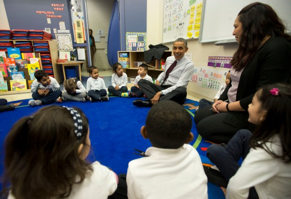 Obama' 2015 Budget Early Education Funds Race