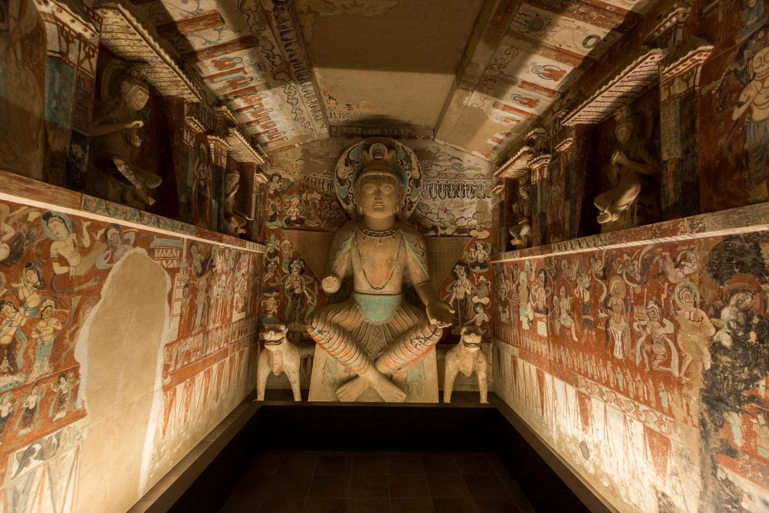 LAs Getty Center Recreates Chinas Cave Temples Of