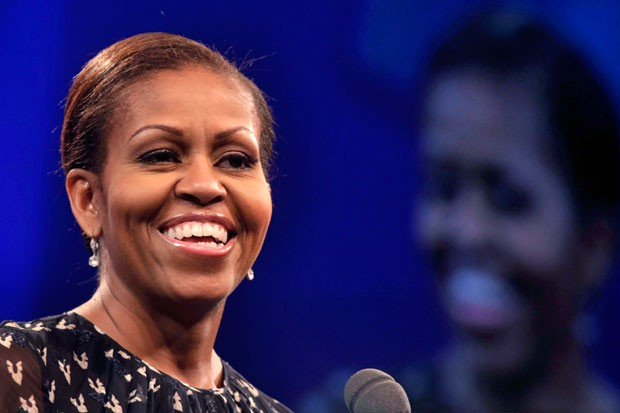 First lady Michelle Obama is distributing a  hip-hop album, complete with music videos, to fight obesity at schools across the country.