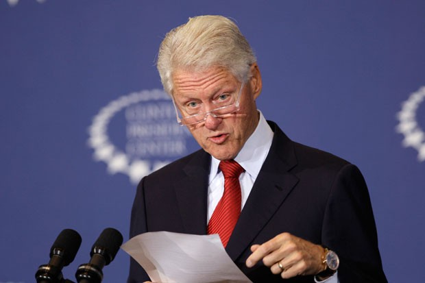 Former President Bill Clinton speaks about health care at the Clinton Presidential Center in Little Rock, Ark., Wednesday, Sept. 4, 2013.