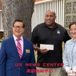 【銀泰珠寶張嫻董事長向聖蓋博市警察捐贈善款幫助社區】