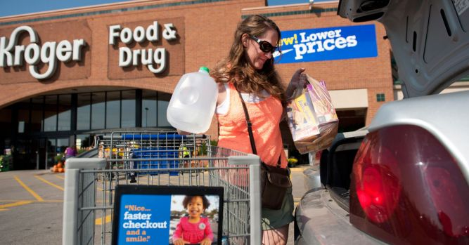 Kroger shares crash as sales disappoint 2