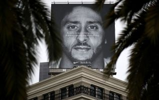 Bogus Nike coupon featuring Colin Kaepernick discount for people of color 2