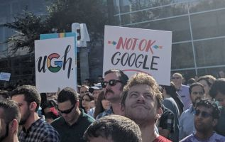 Google employee protests as part of new tech resistance 2