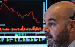 The stock market is acting like earnings growth will turn negative next year 2
