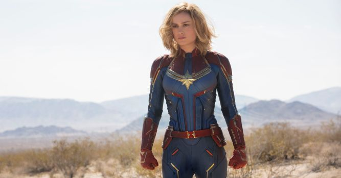 'Captain Marvel' presale tickets soar, signaling big box-office debut 1