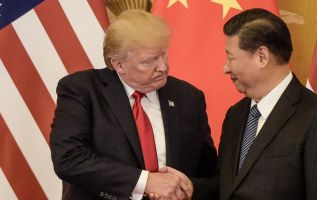 Trump may have to make deal with China as markets fall 2
