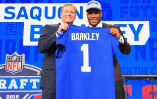 New York Giants' Saquon Barkley talks finances at the Super Bowl 3