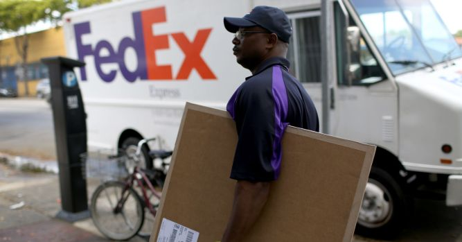 There was mysterious selling in FedEx on Tuesday before poor earnings took down the stock 10