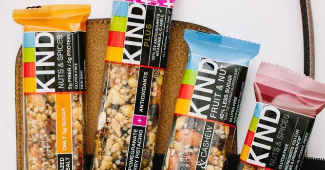 Kind bars wants the FDA to change how it regulates food labels 1
