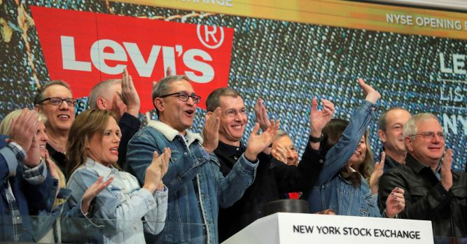 Levi's CEO says athleisure was a 'throwdown' moment for denim market 4