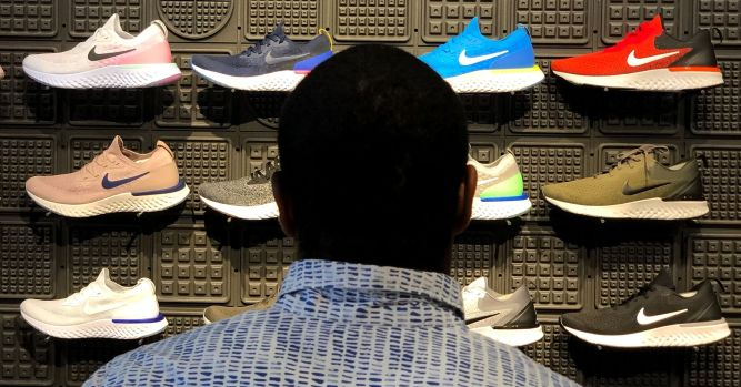 Buy Nike's pullback because the company will over deliver 9
