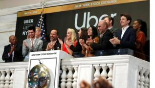 Uber shares sink on stock market debut 3