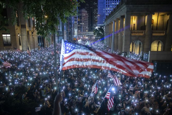 China threatens countermeasures in response to US bill supporting Hong Kong protesters 3