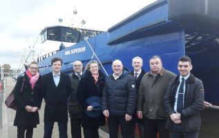 Impressive new vessel welcomed to Grimsby's wind fleet 1