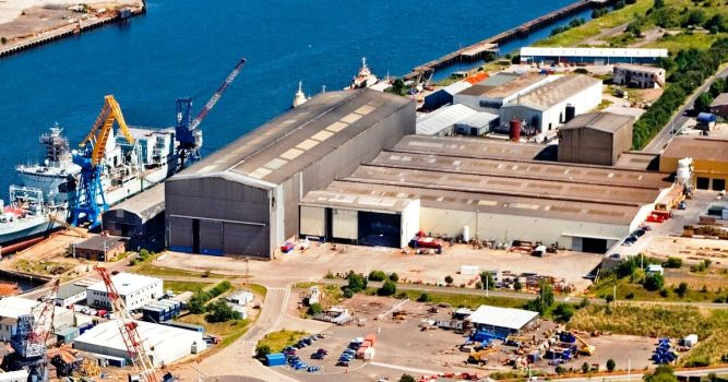 Shipbuilder A&P sees turnover hit £111m but North East margins fall 1