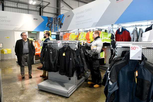Arco opens new Hull store with former Arsenal footballer Paul Merson 1
