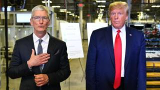 Trump launches fresh attack on Apple over privacy 2
