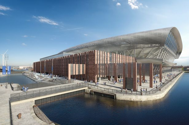 Everton FC submit application to council for Goodison Park Legacy Project 1
