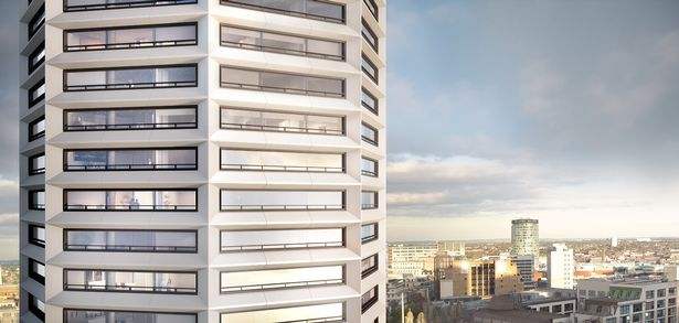 Paradise developers plan 49-storey octagonal resi tower in Birmingham 1