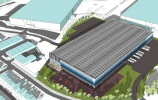 Warehouse plan for former Stoke Potters speedway site 3