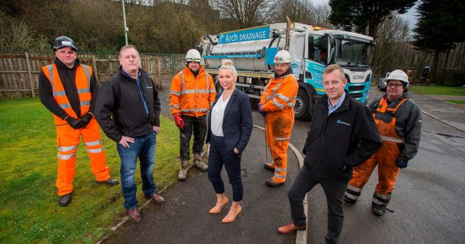 The Valleys drainage firm expanding and creating new jobs 6