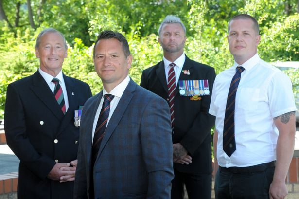 Former military policeman brings forces veterans to Covid frontline 1