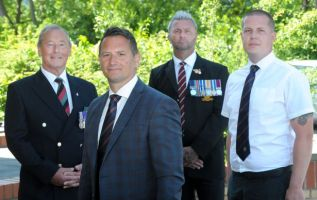 Former military policeman brings forces veterans to Covid frontline 2