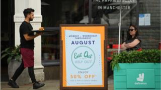 Eat Out to Help Out: Diners claim 100 million meals in August 1