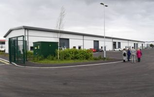 New industrial units unveiled as part of wider business park scheme 2