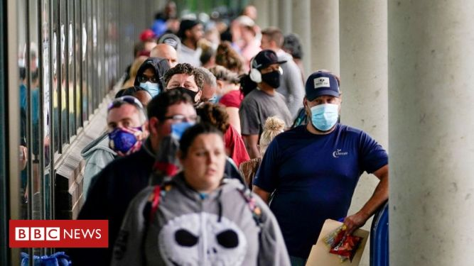 Job growth slows in US as virus cases surge 1