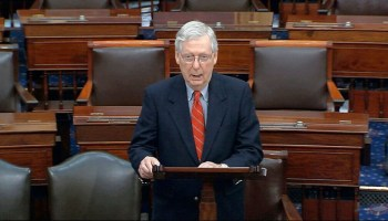Senate GOP unveils slimmed-down coronavirus bill, with McConnell pushing for vote this week