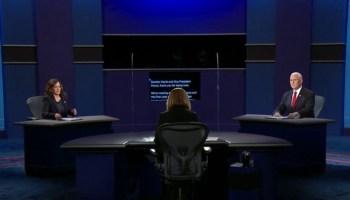 Top 5 vice presidential debate moments between Pence, Harris